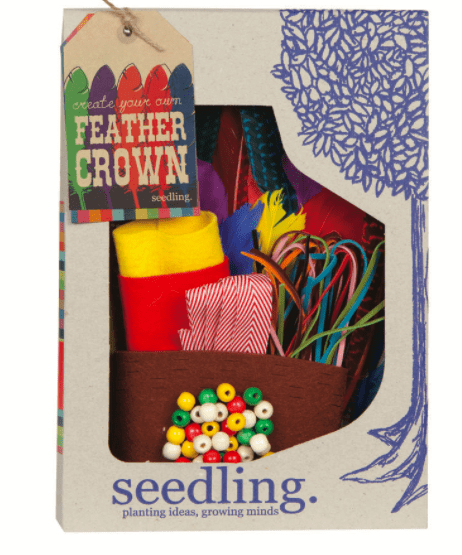 Seedling 4 Plus Create Your Own - Feather Crown