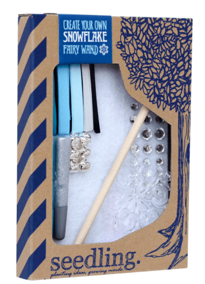 Seedling 4 Plus Create Your Own - Snowflake Fairy Wand
