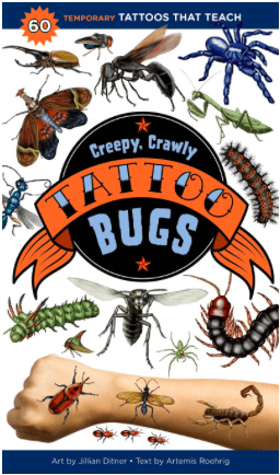 Storey 4 Plus Tattoo - Bugs