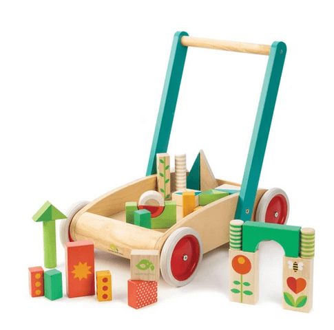 Tender Leaf Toys 12 Mths Plus Baby Block Walker
