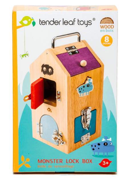 Tender Leaf Toys 3 Plus Monster Lock Box