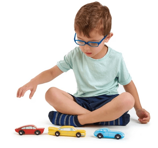 Tender Leaf Toys 3 Plus Retro Car Set