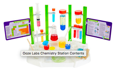 Thames & Kosmos 8 Plus Ooze Labs - Chemistry Station