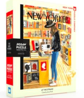 The New Yorker 10 Plus 1000 Pc Puzzle - At The Strand