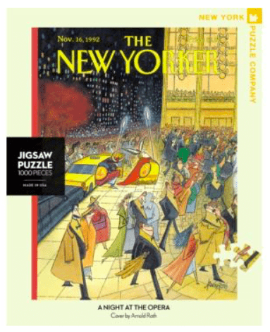 The New Yorker 10 Plus 1000 Pc Puzzle - Opera