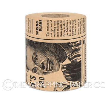 The Wrapping Paper Company Belli Band Belli Band - Vintage News Craft