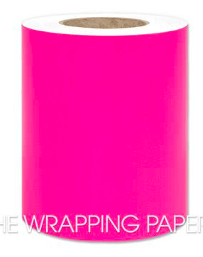 The Wrapping Paper Company Gift Wrap / Packaging Bright Pink Belli Band