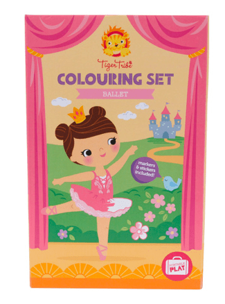Tiger Tribe 3 Plus Colouring Set - Ballet