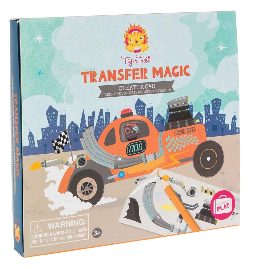 Tiger Tribe 3 Plus Transfer Magic - Car