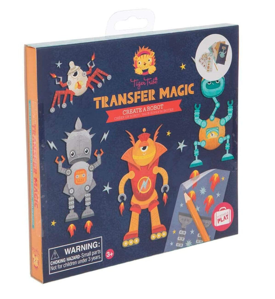 Tiger Tribe 3 Plus Transfer Magic - Create a Robot