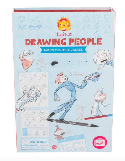 Tiger Tribe 5 Plus How to Draw - Drawing People
