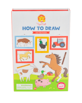 Tiger Tribe 5 Plus How to Draw - On the Farm
