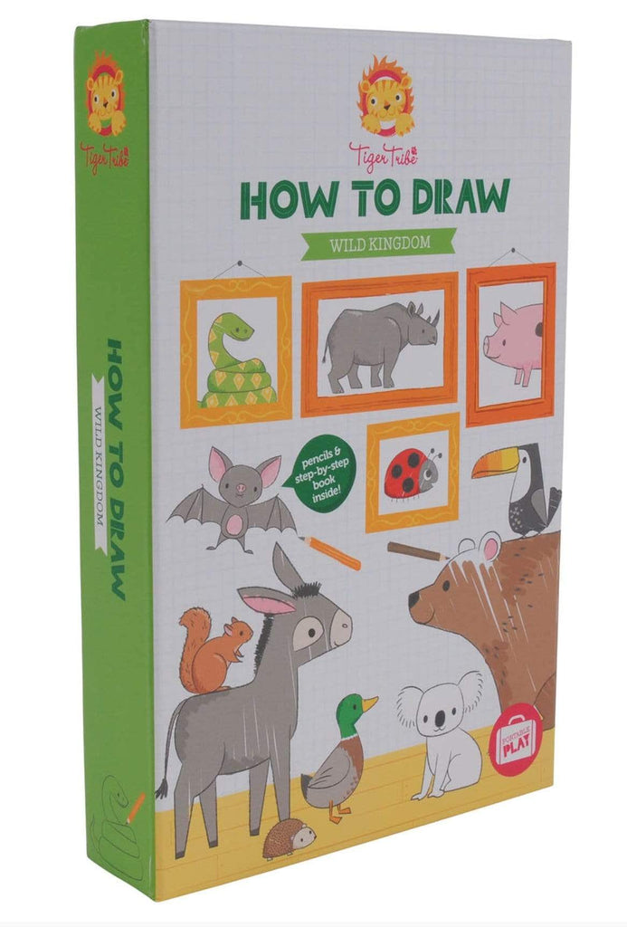 Tiger Tribe 5 Plus How to Draw - Wild Kingdom