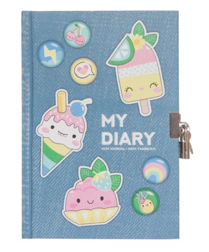 Lockable Diary - Sweet Secrets