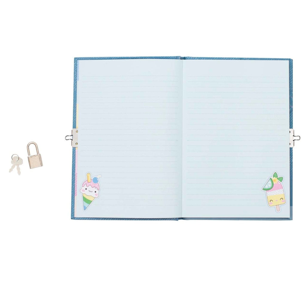 Tiger Tribe 5 Plus Lockable Diary - Sweet Secrets