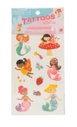 Tiger Tribe 5 Plus Tattoos - Fairies & Mermaids