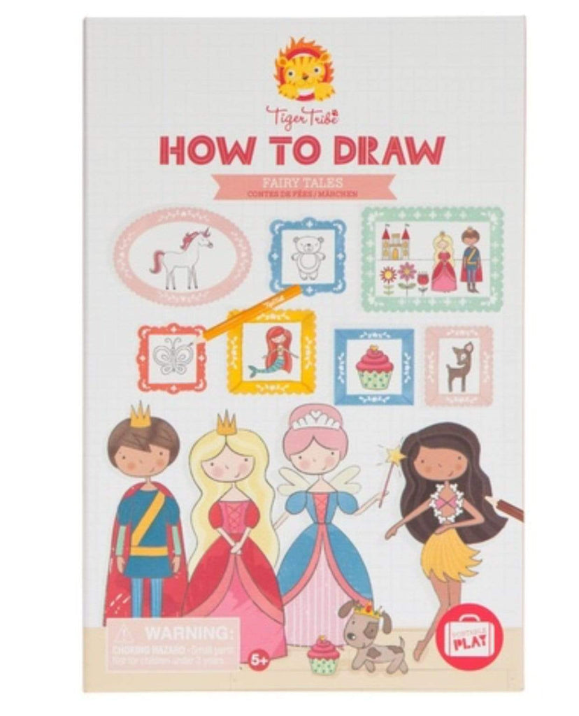 Tiger Tribe 5 Plus Young Artist - How to Draw Fairy Tales