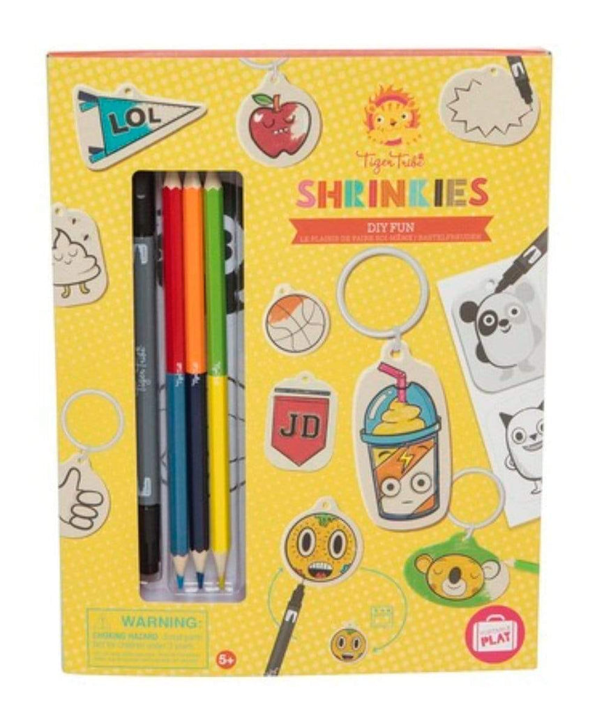 Tiger Tribe 6-7 Years Shrinkies - DIY
