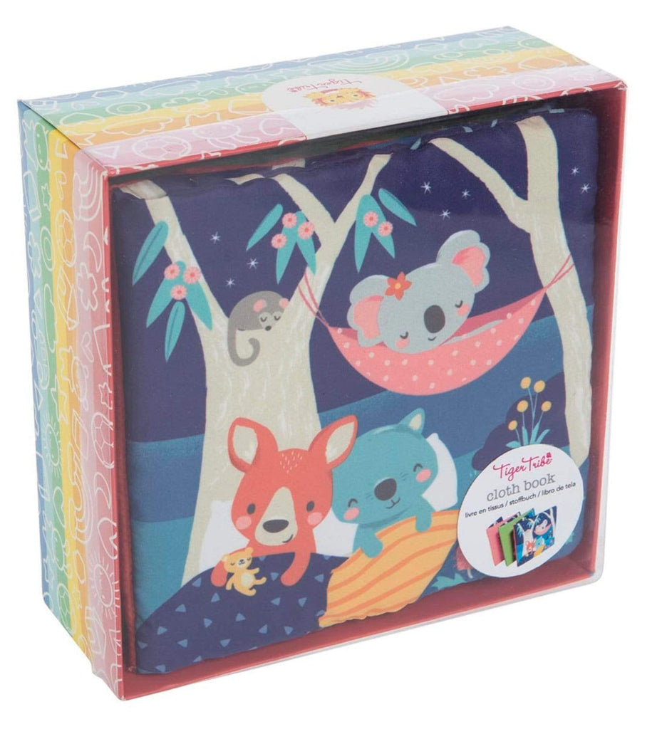 Tiger Tribe Birth to 12 Months Cloth Book - Gumtree Buddies