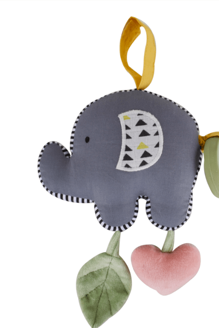 Tikiri Birth Plus Elephant Pram Toy