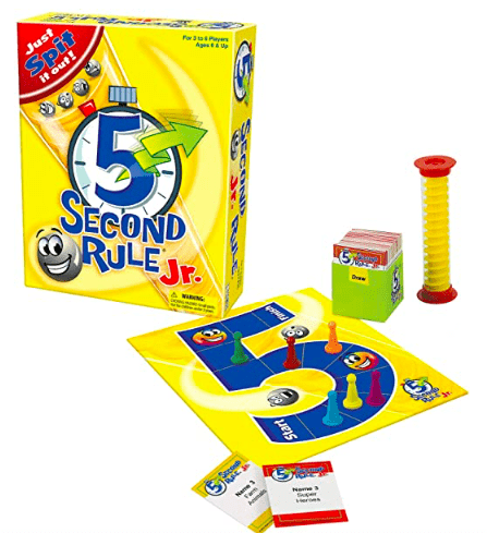University Games 6 Plus 5 Second Rule Jr.