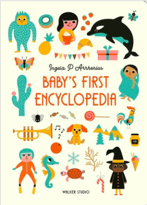 Walker Books 12 Mths Plus Baby's First Encyclopedia - Ingela P Arrhenius
