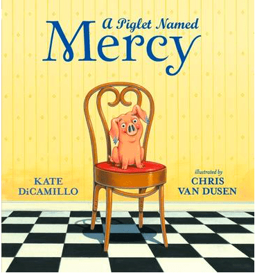 Walker Books 3 Plus A Piglet Named Mercy - Kate DiCamillo