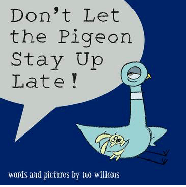 Walker Books 3 Plus Don't Let the Pigeon Stay Up Late - Mo Willems