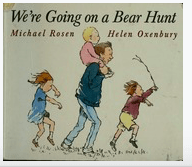 Walker Books 3 Plus We're Going on a Bear Hunt, Book & Toy - M Rosen