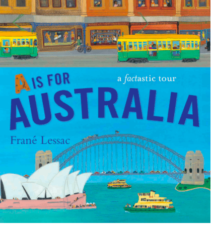 Walker Books 5 Plus A is for Australia - Frane Lessac