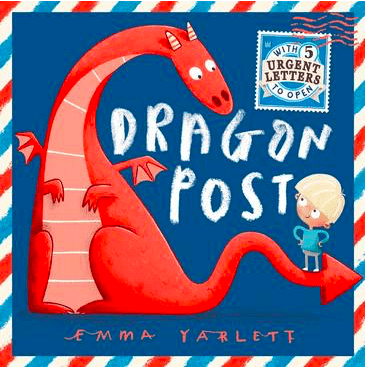 Walker Books 5 Plus Dragon Post - Emma Yarlett