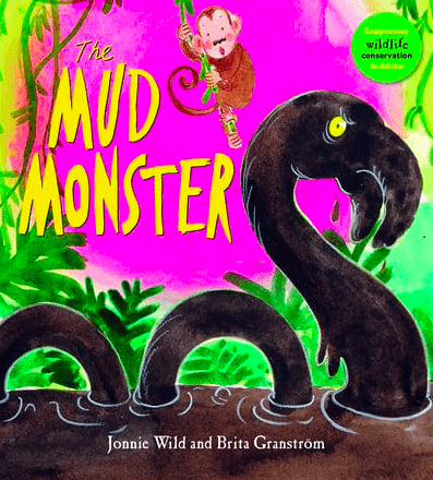 Walker Books Child Fiction 3 Plus The Mud Monster - Jonnie Wild