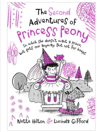 Walker Books Child Fiction 6 Plus The Second Adventures of Princess Peony
