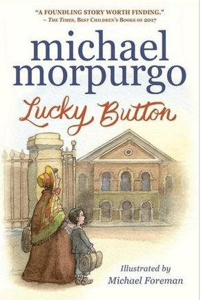 Walker Books Child Fiction 9 Plus Lucky Button - Michael Murpurgo