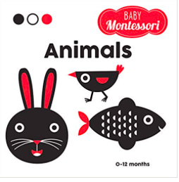 White Star Kids Birth Plus Baby Montessori Animals