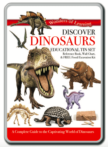 Wonders of Learning 8 Plus Discover Dinosaurs