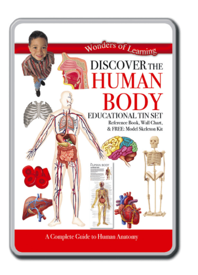 Wonders of Learning 8 Plus Discover the Human Body Tin