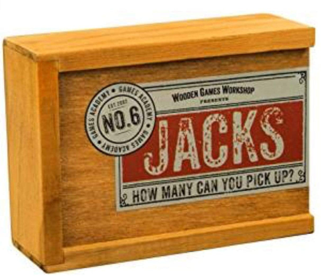 Wooden Games Workshop 5 Plus Jacks