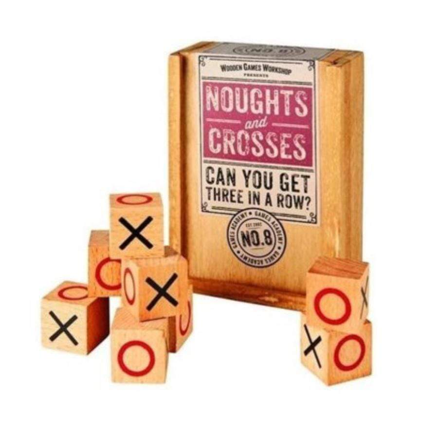 Wooden Games Workshop Family Games Noughts and Crosses