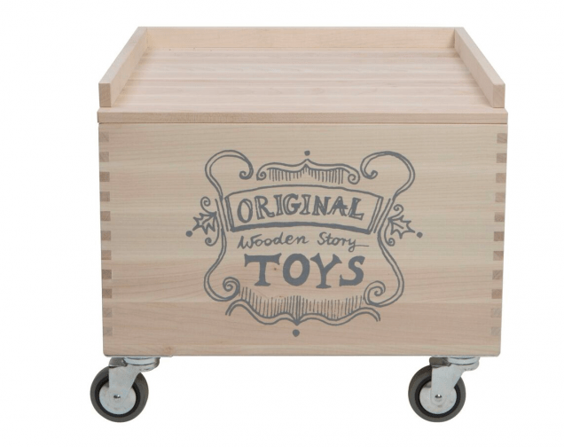 Wooden Story Birth Plus Wooden Storage Crate