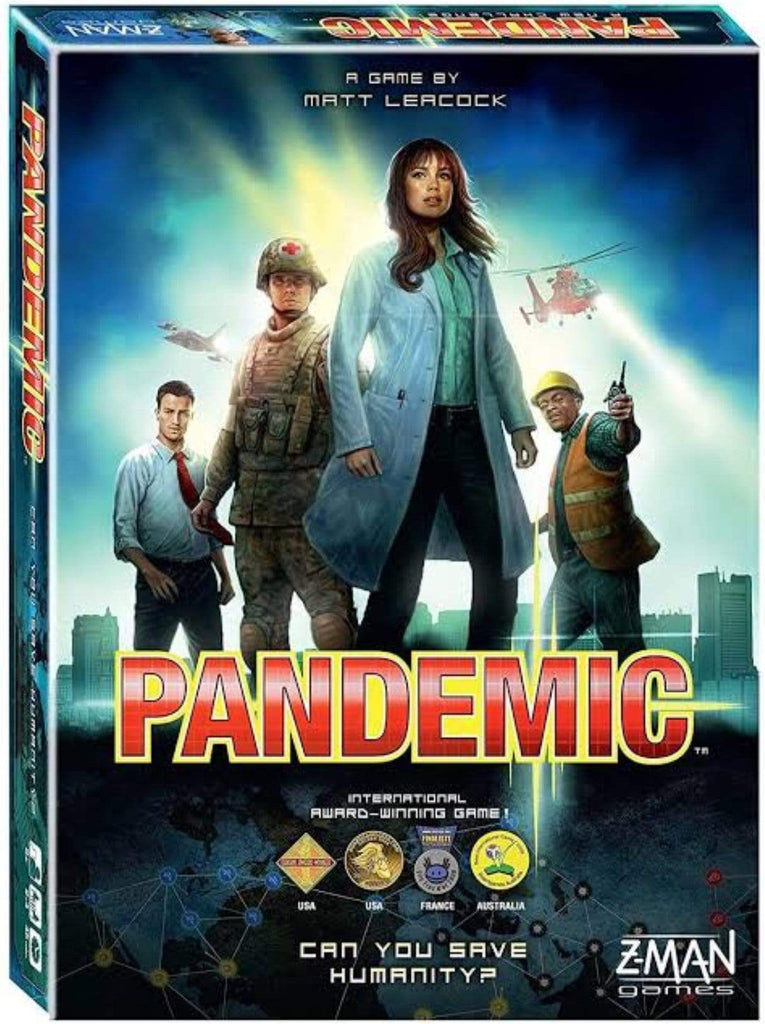 Z-Man Games Family Games Pandemic