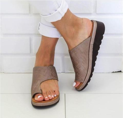 Comfy Platform Sandals - Anti Bunion Sandals