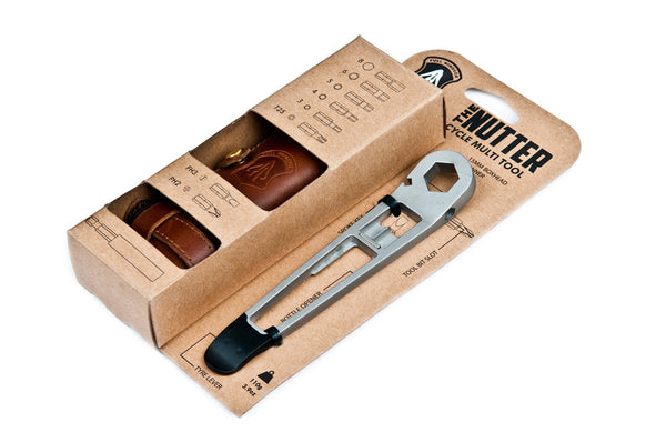 the nutter cycle multi tool in point os display card packaging