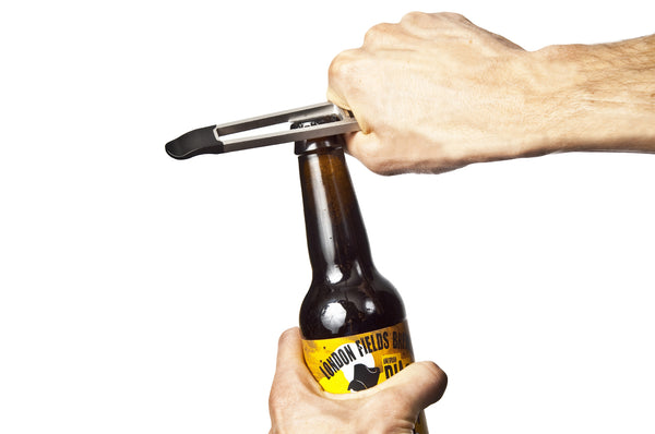 bottle opener feature on nutter cycle multi tool being used