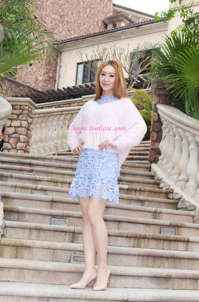 SWEET KOREAN V NECK PULLOVER
