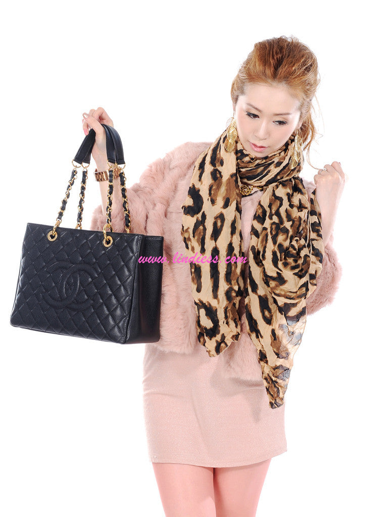 CHIC VOLUMENESS BIG LEOPARD SCARF