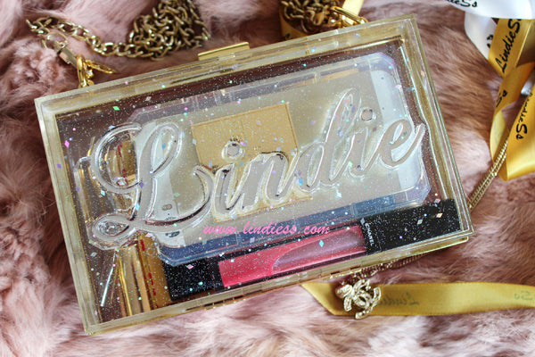 SHINE LIKE A STAR - CRYSTAL GLAMOUR NAME BAG