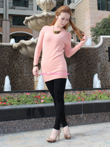 PERFECT FIT BLOUSE - PEACH