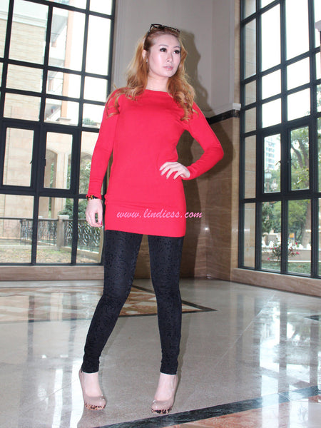PERFECT FIT BLOUSE - HOT RED