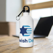 Load image into Gallery viewer, Jewish Dems Stainless Steel Water Bottle
